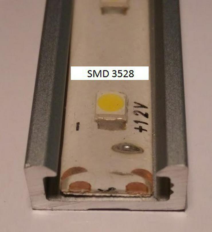 Bild 2: 1m Alu Profil LED Aluminium Leiste LED-Strip