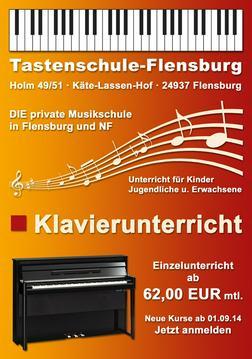Klavierunterricht 62 EUR mtl Flensburg - Instrumente - Bild 1
