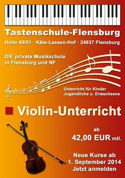 Violin Unterricht 42 EUR mtl Flensburg - Instrumente - Bild 1
