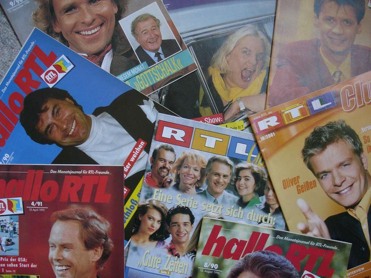 Bild 2: RTL - Clubzeitschriften