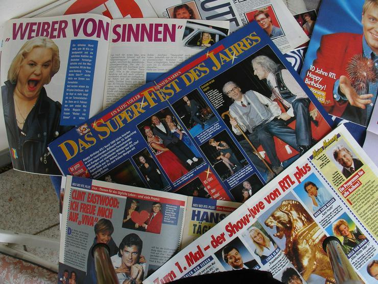 Bild 3: RTL - Clubzeitschriften