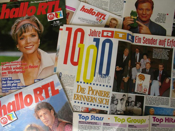 Bild 4: RTL - Clubzeitschriften