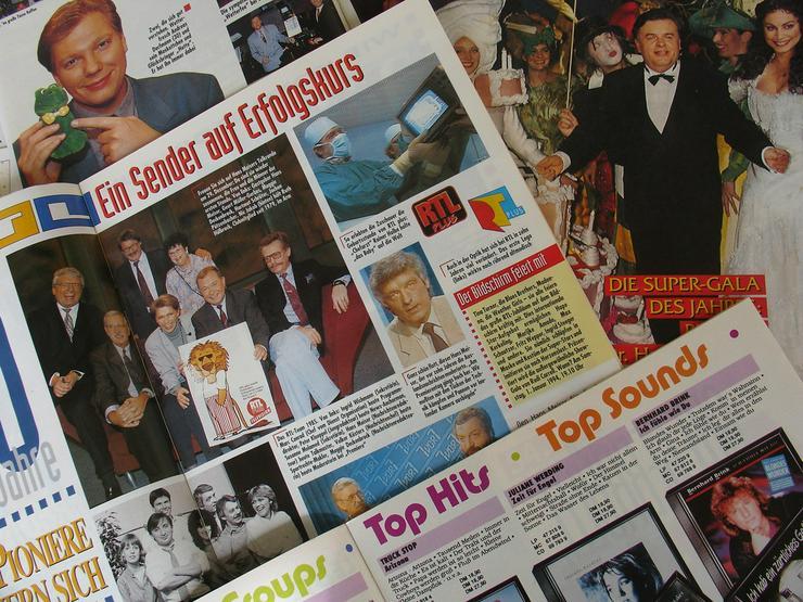Bild 5: RTL - Clubzeitschriften