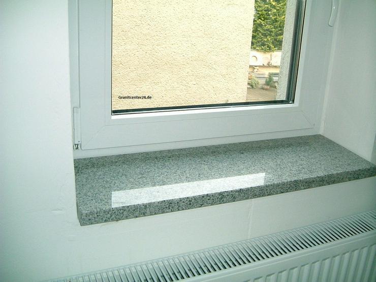 Fensterbänke Granit für innen und außen