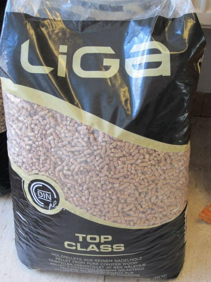 Holzpellets DINplus LIGA15kg Sack ab 3,53 Euro - Holz- & Pelletheizung - Bild 1