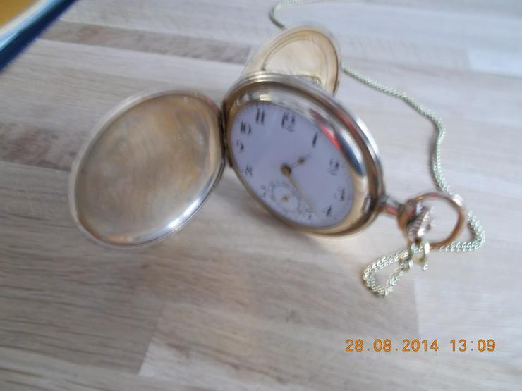Bild 3: Große alte  Frackuhr  / Taschenuhr/Gold Double