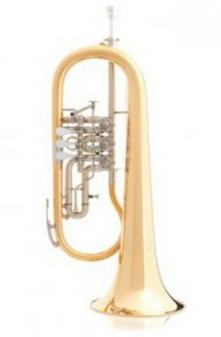 B & S Konzert Flügelhorn Mod. 3017/2TR-L. Neu - Blasinstrumente - Bild 1