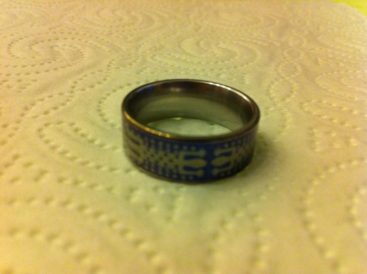 Bild 2: Verkaufe 4 sehr hochwertige Titanium-Ringe!!!