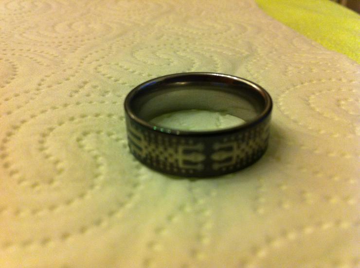 Bild 4: Verkaufe 4 sehr hochwertige Titanium-Ringe!!!