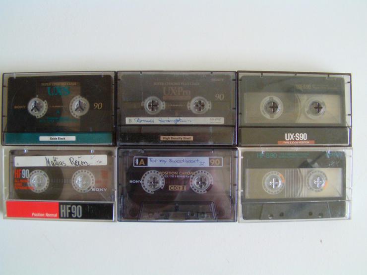 Audio Cassetten BASF, Sony usw. (St.) - Musikkassetten - Bild 1