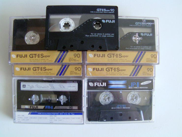 Bild 2: Audio Cassetten BASF, Sony usw. (St.)