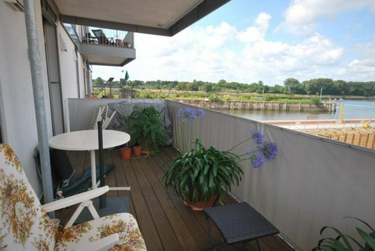 Bild 5: Wer die Weser liebt! Großzügige 3-Zimmer-Neubau-Wohnung an der Weser