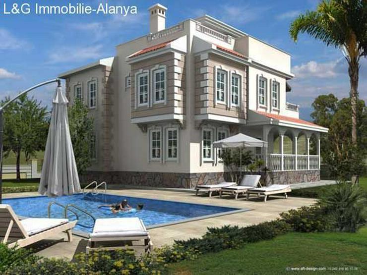 Traumhafter Villenpark in Alanya Avsallar, Luxus und Eleganz ein Einklang mit der Natur. - Haus kaufen - Bild 1