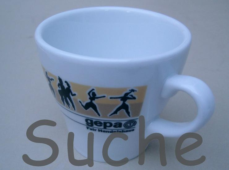 Suche GEPA Kaffee Tassen