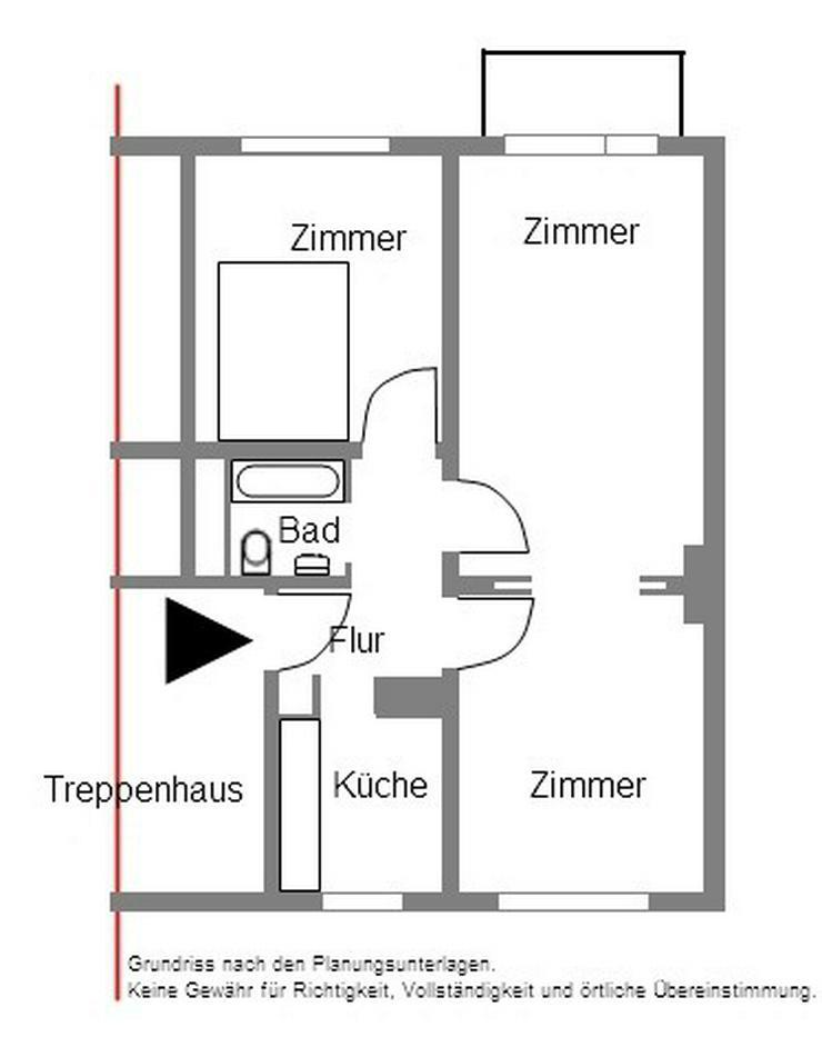 Bild 4: Top renoviert und mit Südbalkon und Garage