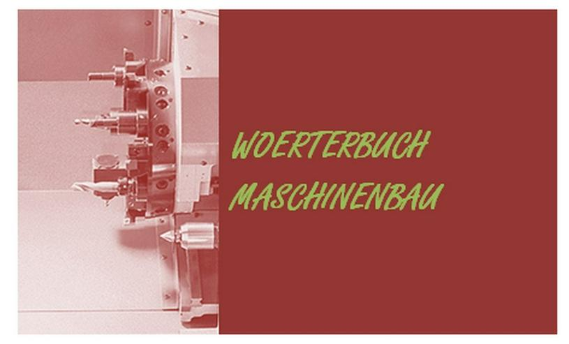 Bewertung: Woerterbuch Maschinenbau de-englisch