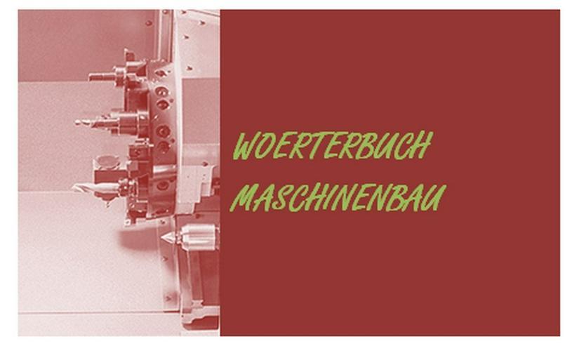Bewertung: Woerterbuch Maschinenbau de-englisch - Wörterbücher - Bild 1