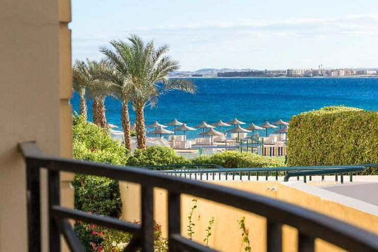 Bild 2: Ferienwohnung direkt am Strand mit Pool