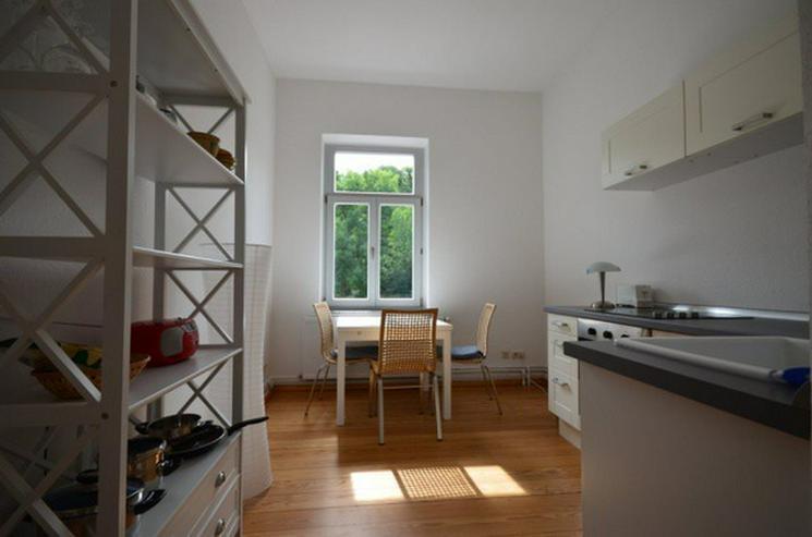 Bild 2: hochwertig ausgestattetes Apartment mit Balkon - Wohnen im Boardinghouse Rostock