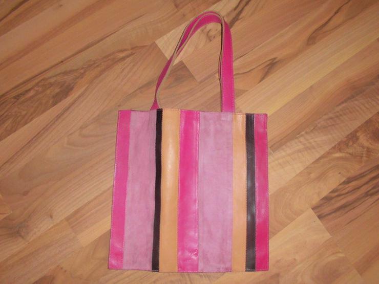 Bunte Damen Leder Handtasche von FC UK