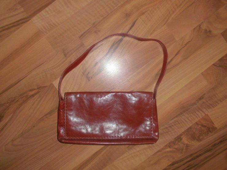 Hochwertige braune Leder DamenHandtasche