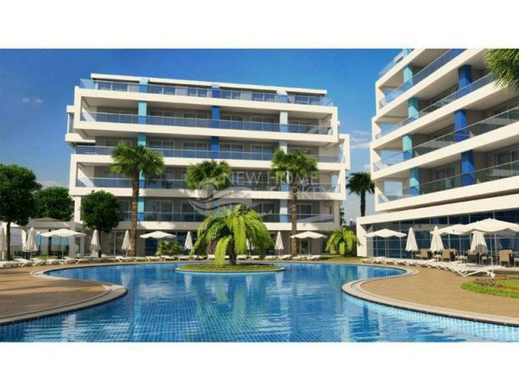 Bild 5: Hochwertige Wohnungen in einen neuen Komplex in Alanya zu verkaufen.