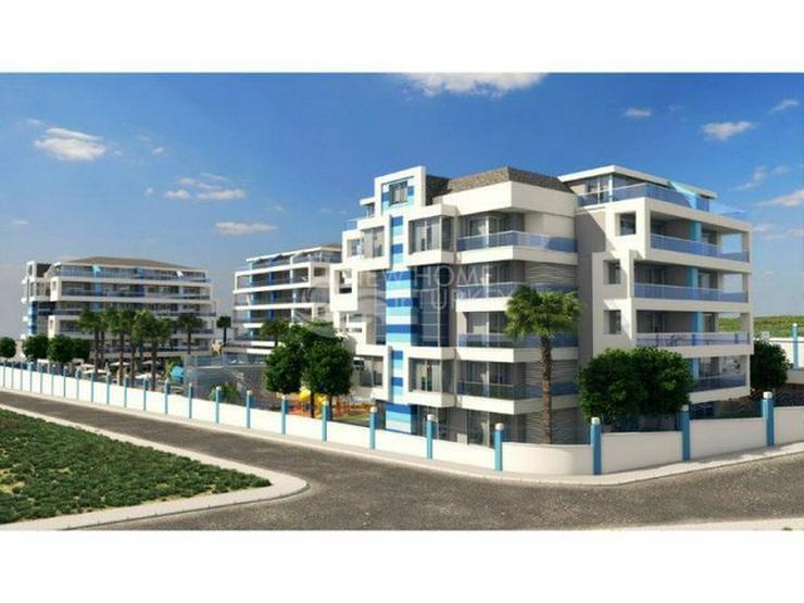 Hochwertige Wohnungen in einen neuen Komplex in Alanya zu verkaufen.
