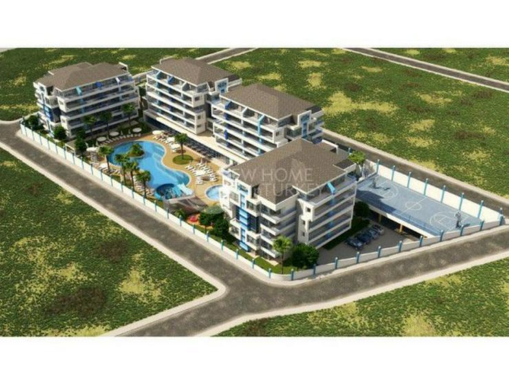 Bild 3: Hochwertige Wohnungen in einen neuen Komplex in Alanya zu verkaufen.