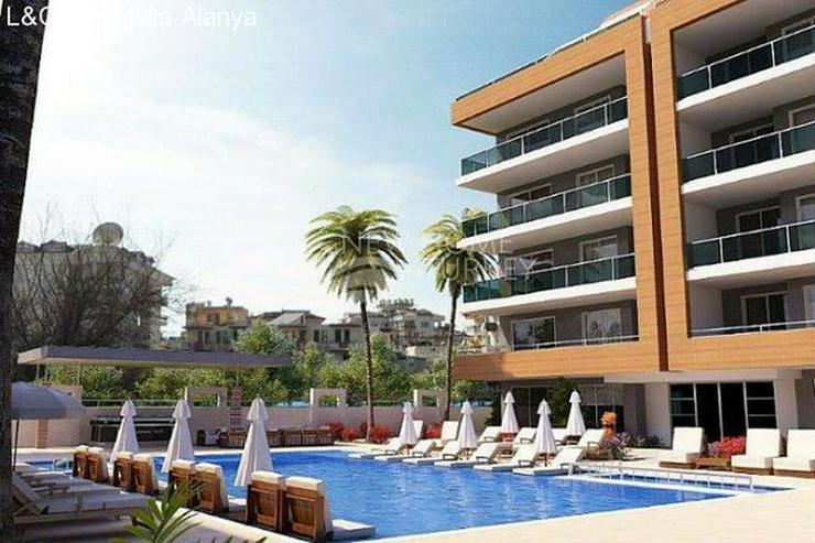Neubau - Projekt in Oba / Alanya mit vielen Freizeitmöglichkeiten