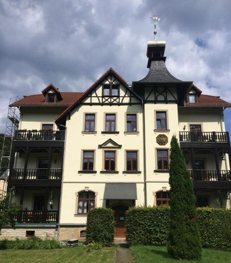Kleine 3-Raum-Wohnung mit Blick ins Elbtal!