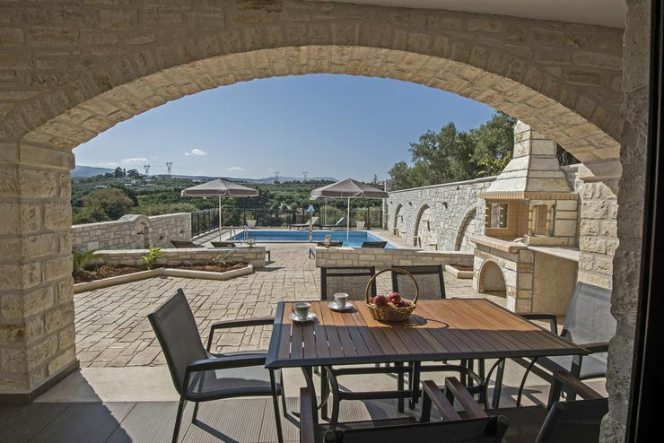 Kreta Ferienhaus Semeli bei Rethymnon mit 3 Scn