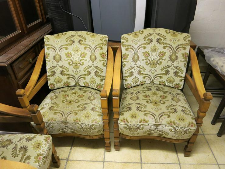 Sitzgarnitur im Landhausstil , Holz/Polster,