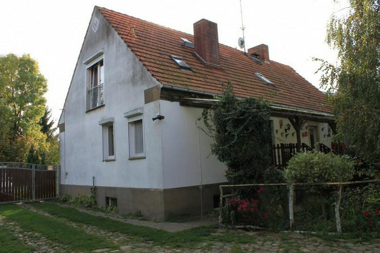 Bild 2: Bauernhaus im Elefantendorf Platschkow - ländliche Idylle