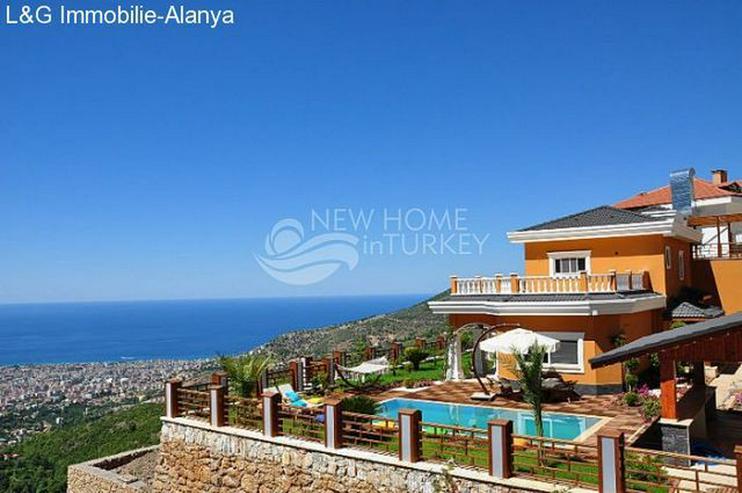 Bild 4: Luxus Villa über den Dächern Alanyas zu verkaufen.