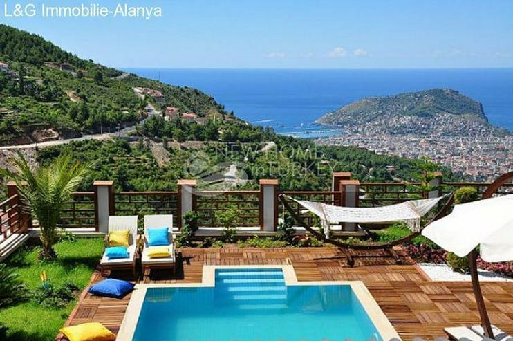 Luxus Villa über den Dächern Alanyas zu verkaufen. - Haus kaufen - Bild 1