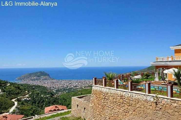 Bild 3: Luxus Villa über den Dächern Alanyas zu verkaufen.