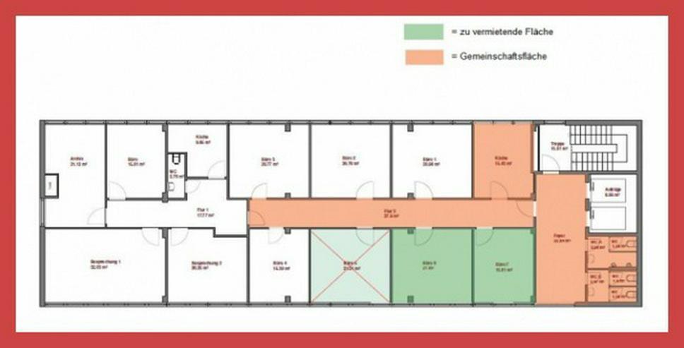 Bild 13: 2 Raum-Büro als Startup-Bürofläche in einem gepflegten Bürohaus!