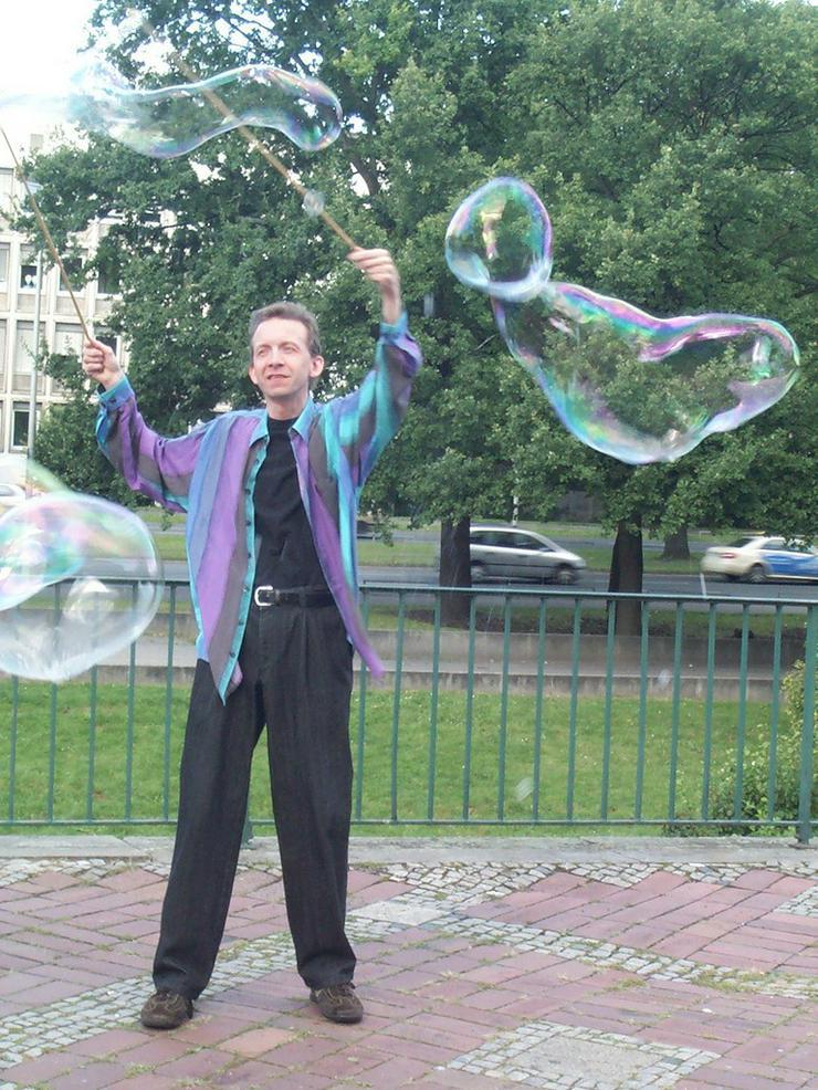 Seifenblasen Hannover Spontan Vorführung