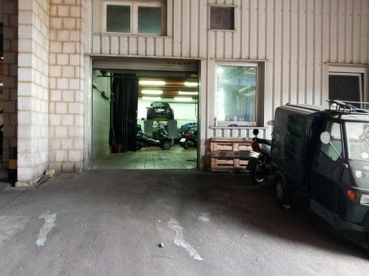 Bild 4: Werkstatt/Lagerhalle an sehr viel befahrer Einfallstraße Saarbrückens
