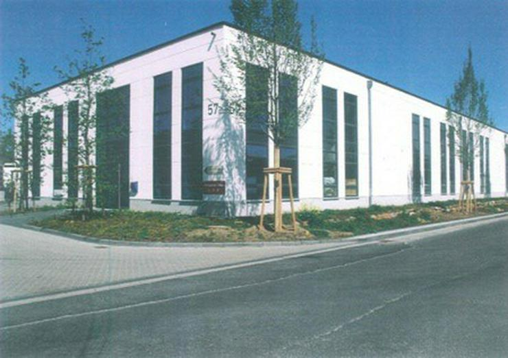 Bild 4: Halle, Neubau in Autobahnnähe, Industriegebiet