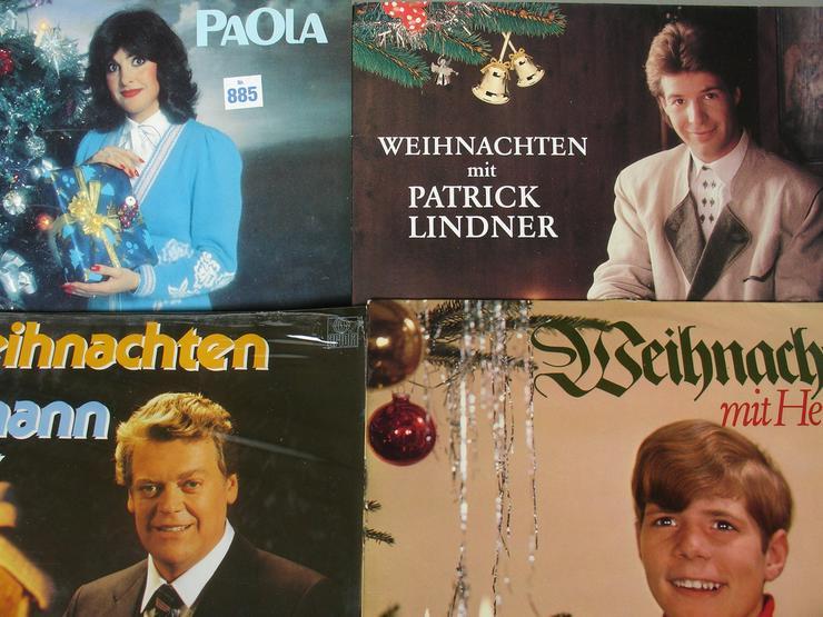 15 Weihnachts - Langspielplatten auf Vinyl