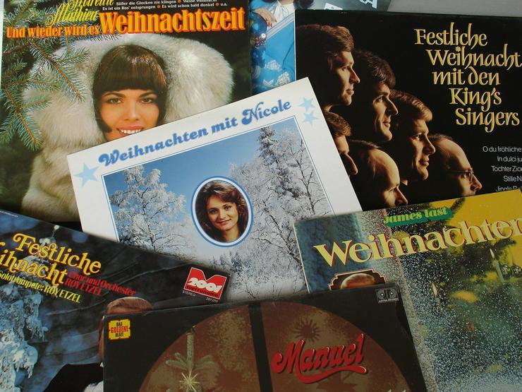 Bild 2: 15 Weihnachts - Langspielplatten auf Vinyl