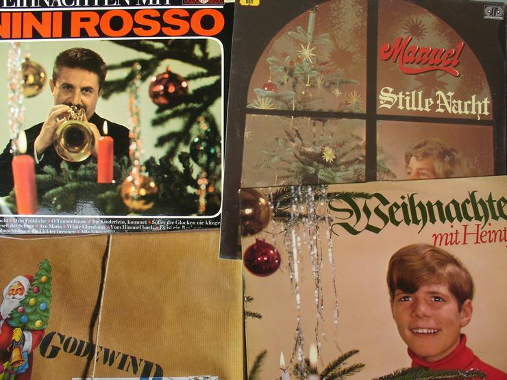 Bild 3: 15 Weihnachts - Langspielplatten auf Vinyl