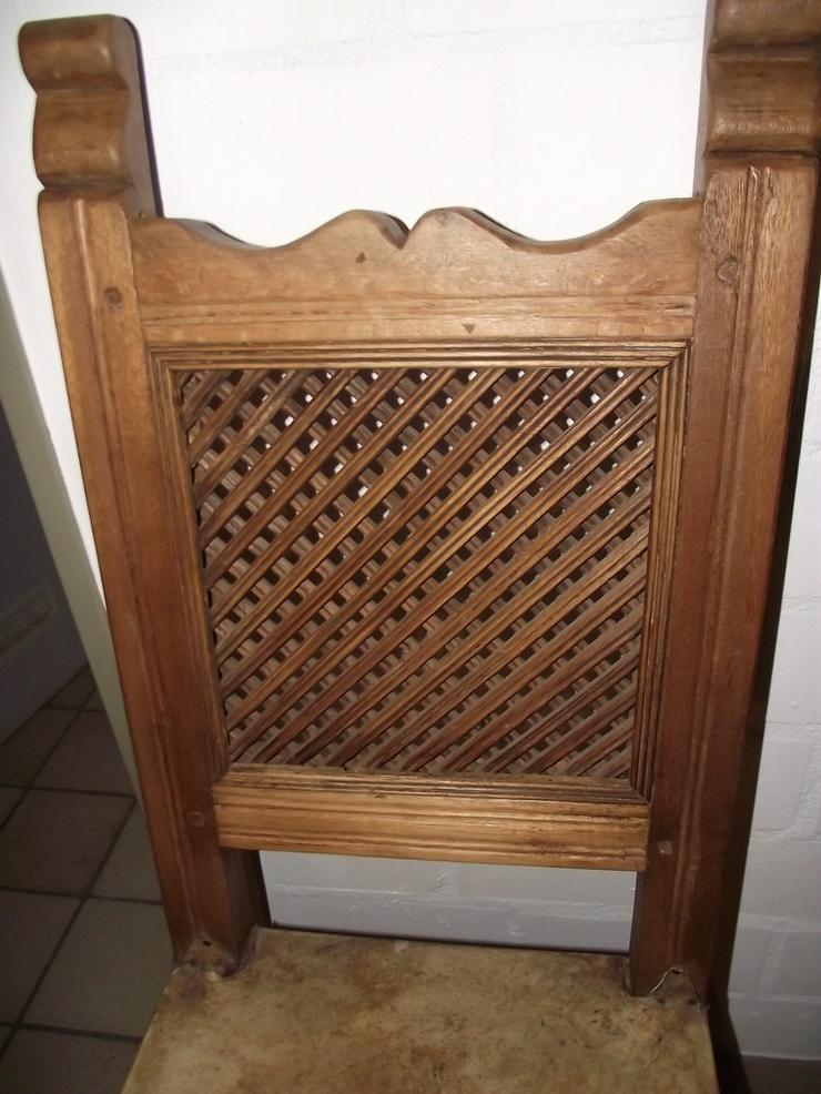 Bild 2: Kolumbianische Eiche 6 Stühle / Sessel