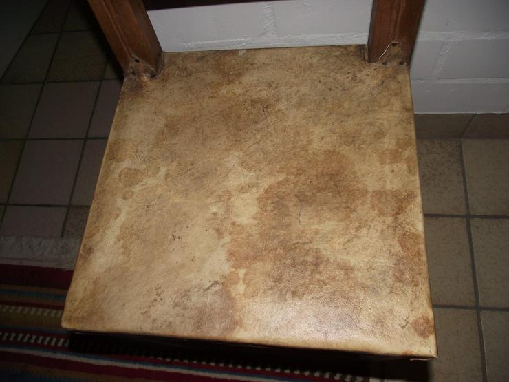 Bild 3: Kolumbianische Eiche 6 Stühle / Sessel