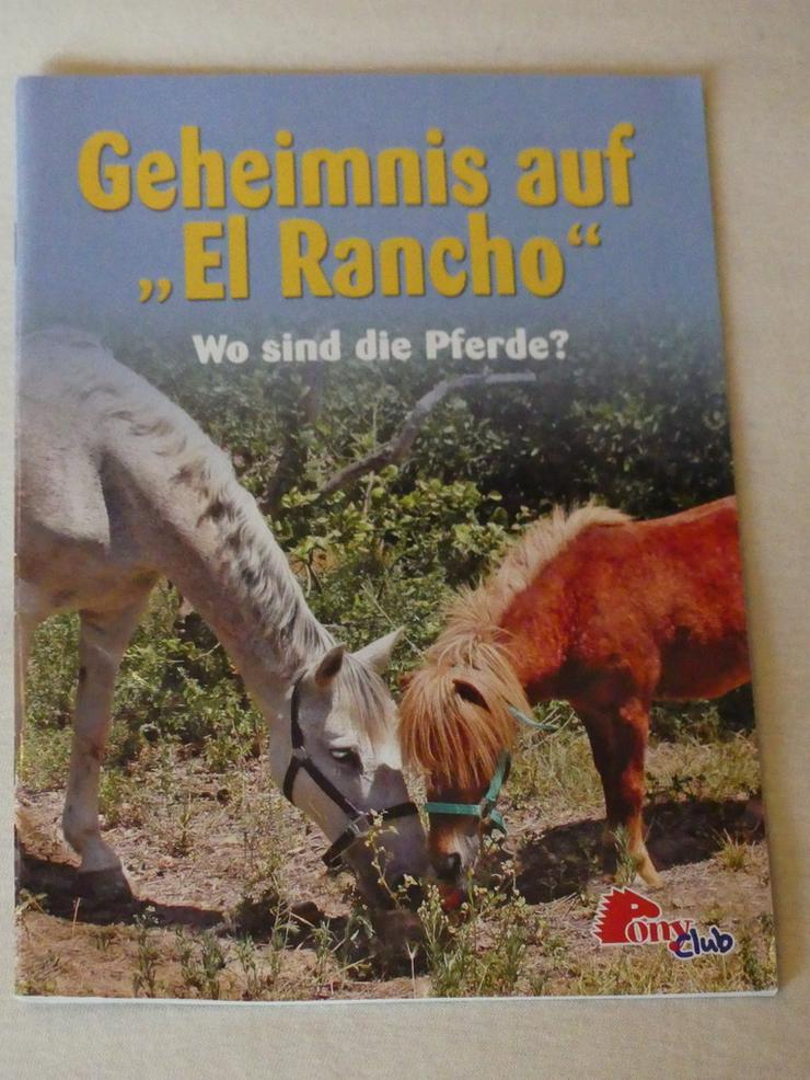"""""""Geheimnis auf El Rancho: Wo sind die Pferde"""" - Comic v. PonyClub"""
