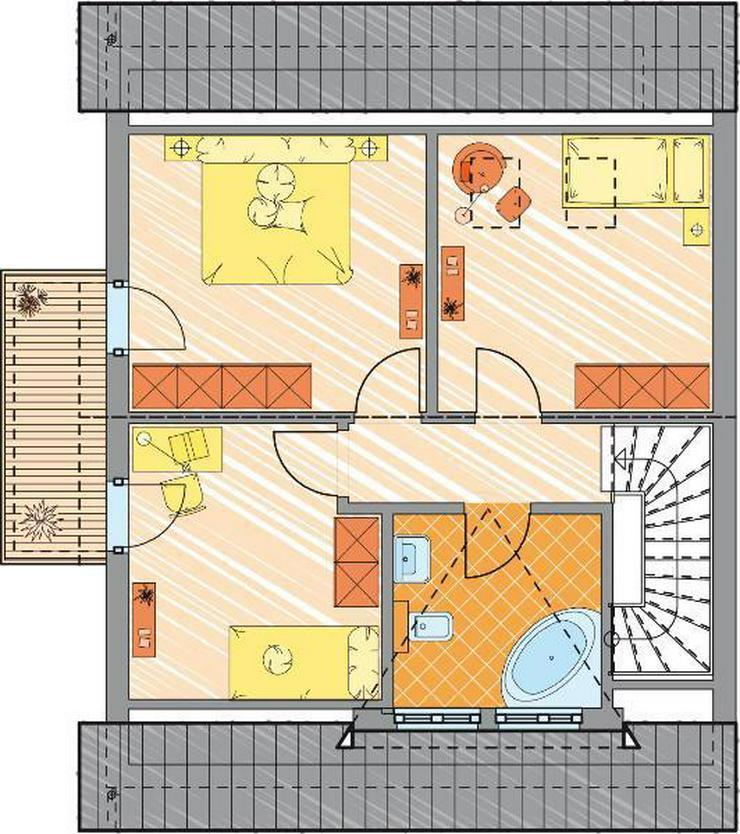 Bild 3: Doppelhaus, oder allein stehend