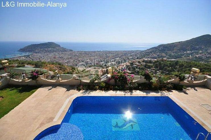 Luxus Villa mit Panorama Meerblick in Alanya zu verkaufen. - Haus kaufen - Bild 1