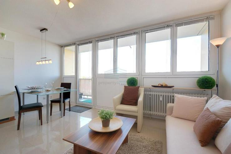 Bild 3: Sehr schönes möbliertes 1-Zimmer Appartement mit Balkon, Garage, Waschmaschiene und Inte...