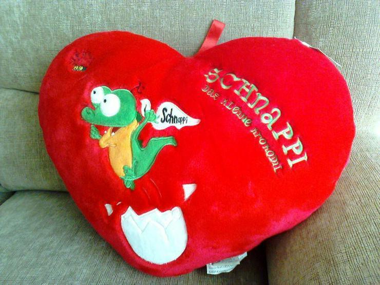 Krokodil Schnappi Herzform